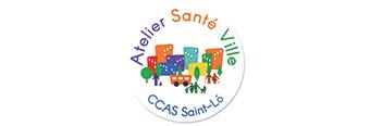 Logo Atelier santé ville du CCAS de Saint-Lô